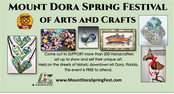 Mount Dora Spring Festival of Arts and Crafts