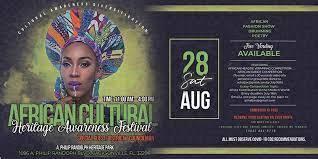 African Cultural Heritage Awareness  Festival