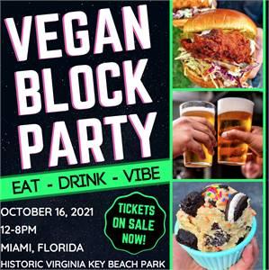 VEGAN BLOCK PARTY