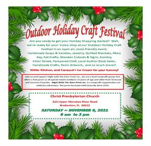 2nd Annual Outdoor Holiday Craft Festival