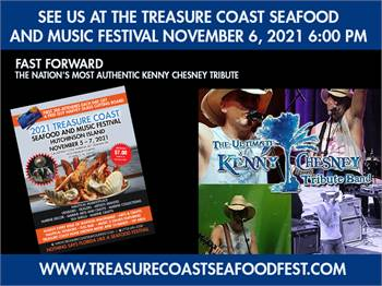 Nation's Most Authentic Kenny Chesney Tribute Treasure Coast Seafood Music