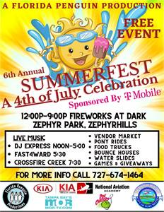 Zephyrhills Summerfest 4th of July