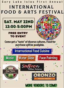 International Food and Arts Festival - FREE!