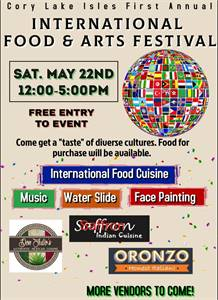 International Food and Arts Festival - FREE!