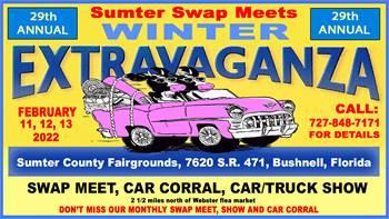 Sumter Swap Meets 29th Annual Winter Extravaganza