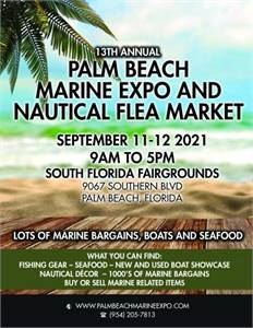 13th Annual Palm Beach Marine Expo and Nautical Flea Market