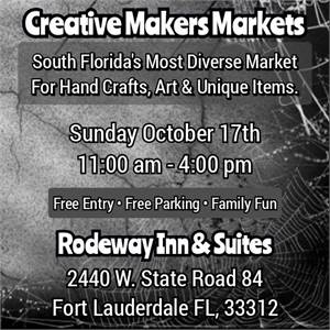 Creative Makers Markets Spooktober Art and Craft Show