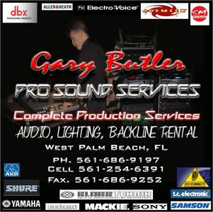 We Are A Local and Professional Live Sound And Stage Lighting Company