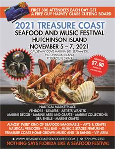 2021 Treasure Coast Seafood and Music Festival Hutchinson Island