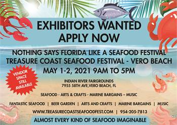 Treasure Coast Seafood Festival – Vero Beach