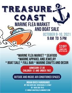 Get Ready for the Treasure Coast Marine Flea Market, Boat Sale and Seafood