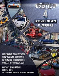 SUPERCAR SATURDAYS FLORIDA presented by Lamborghini Broward, Bugatti Broward, Koenigsegg Florida, ex